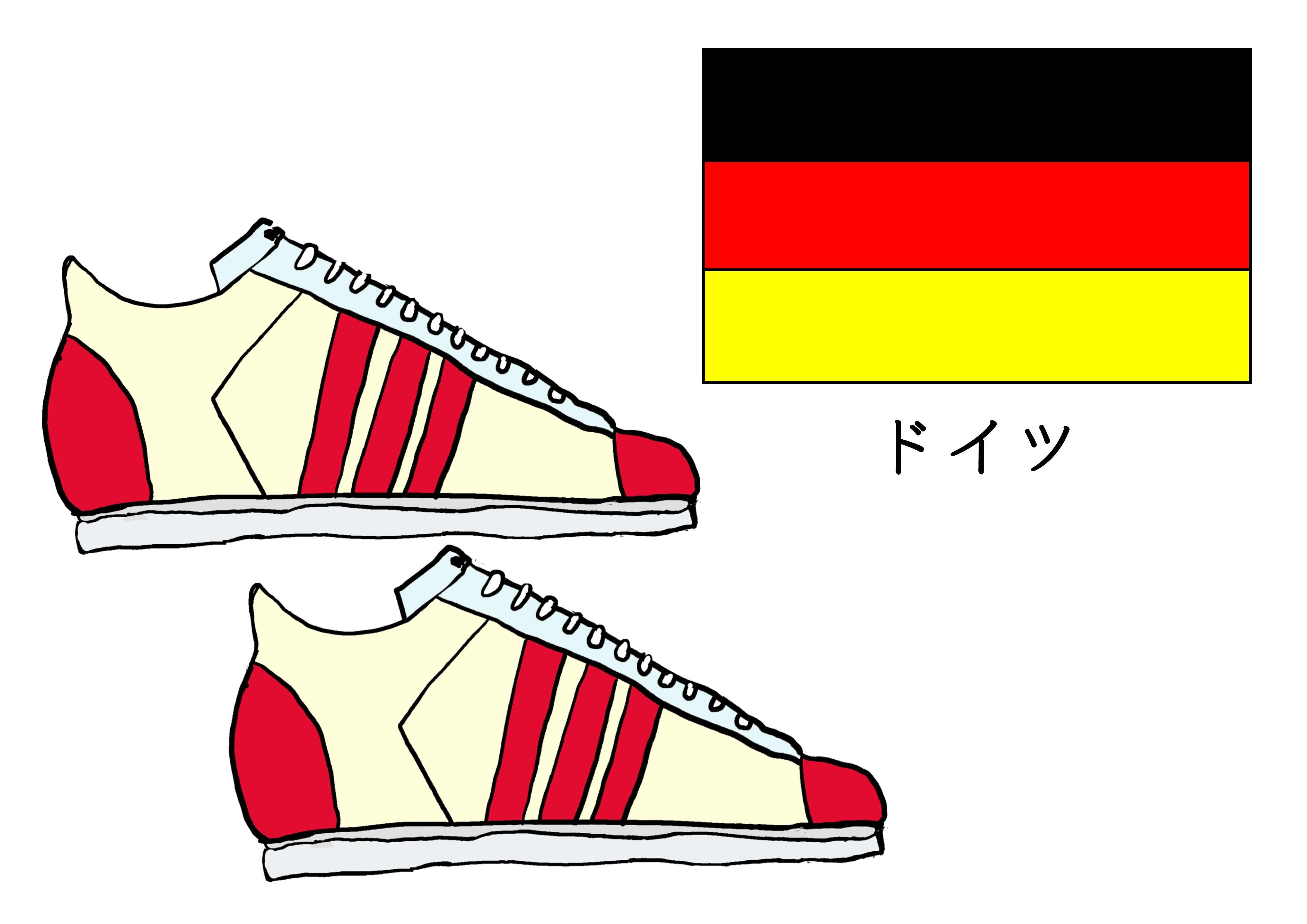 3課イラスト【ドイツの靴】