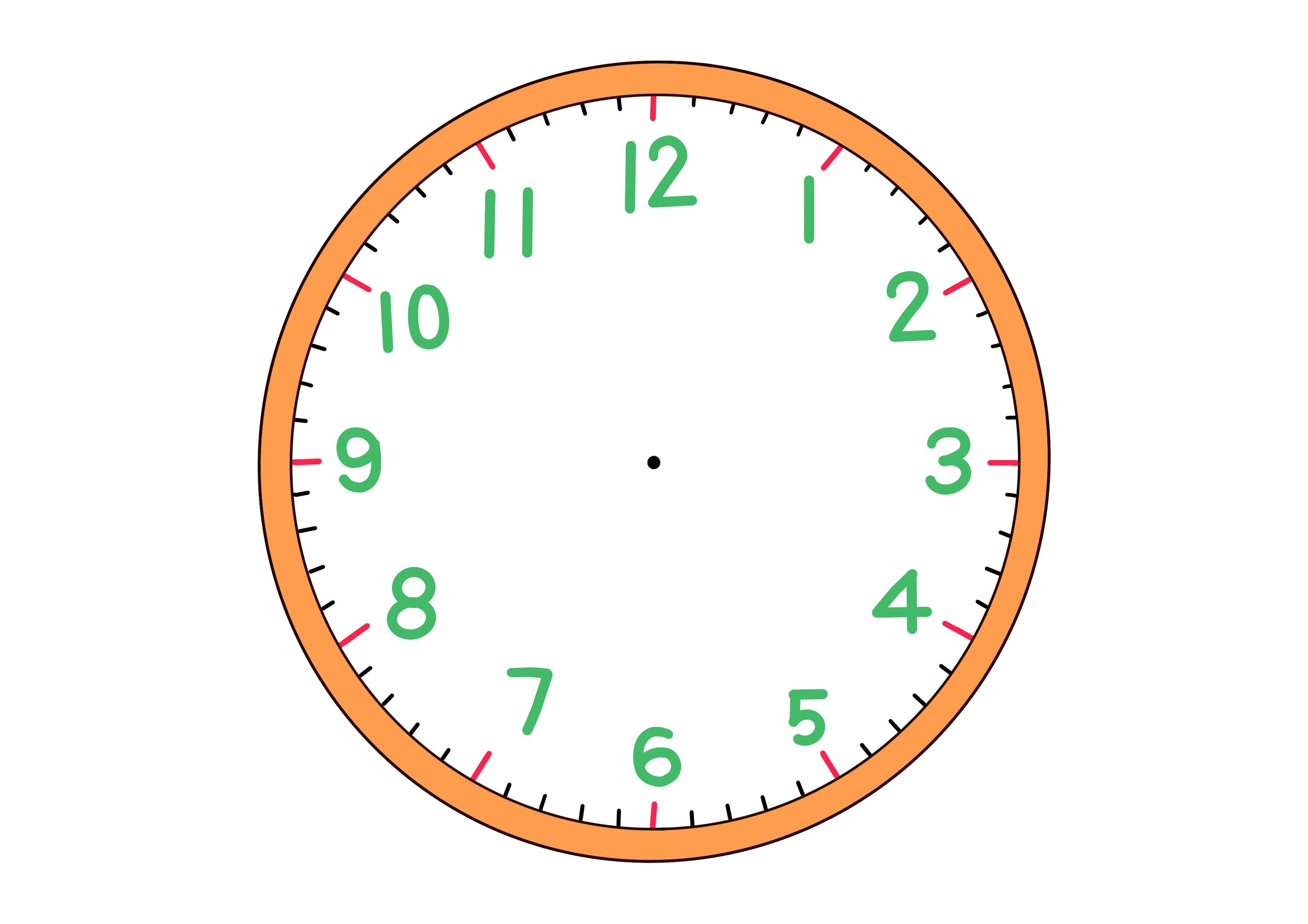 4課イラスト【時計】