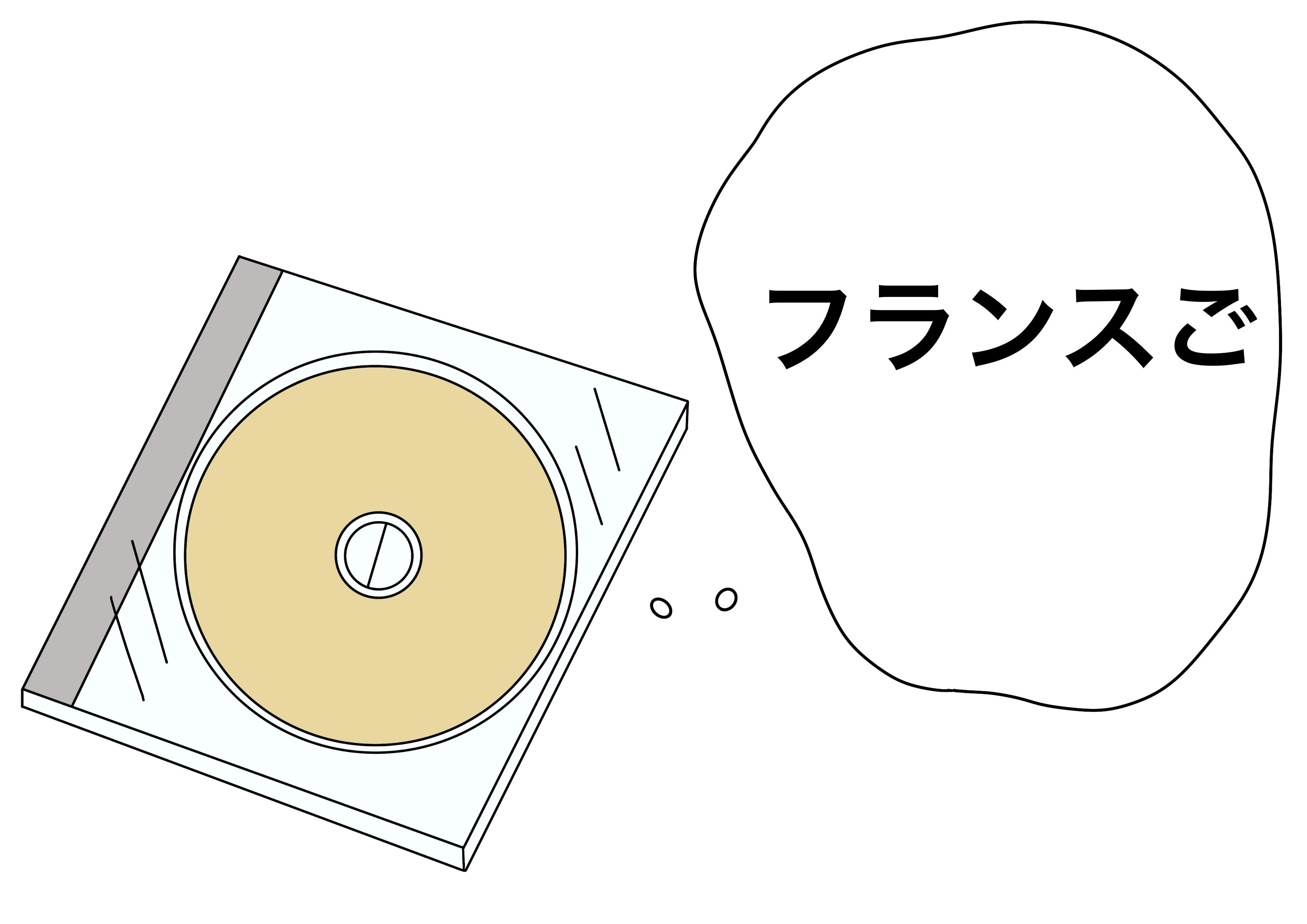 2課イラスト【フランス語のCD】