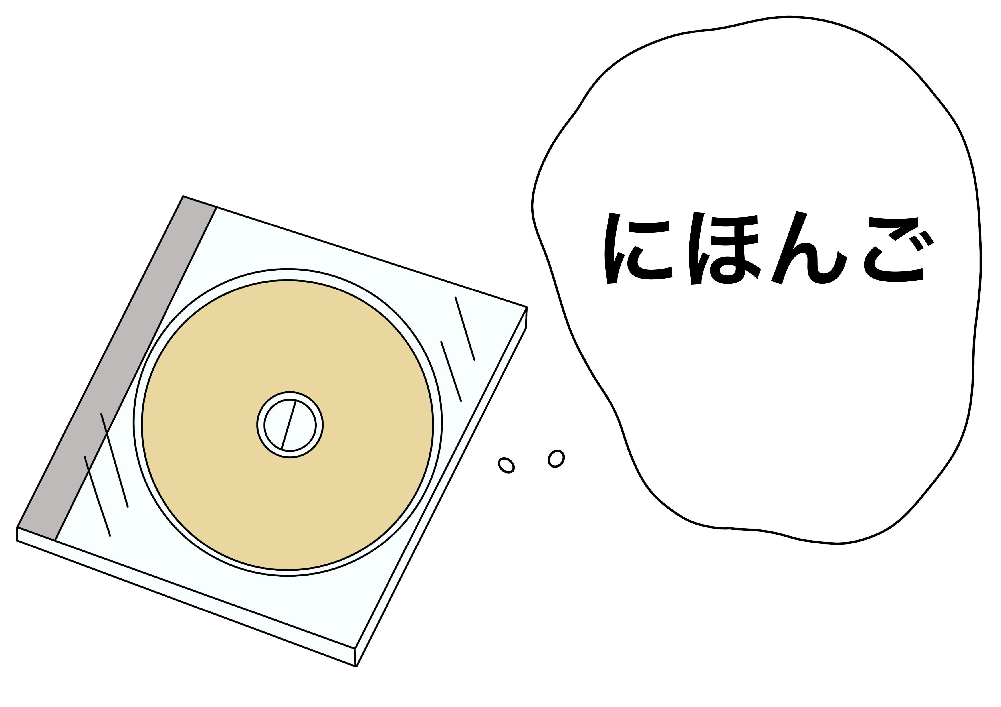 2課イラスト【日本語のCD】
